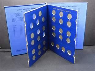 """1883-1912 Liberty """"V"""" Nickels Set. Partial Set. 27"""
