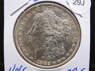 1882 Uncirculated Morgan MS Condition Nice looking