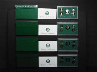 1994-S, 1995-S, 1996-S & 1997-S United States Mint