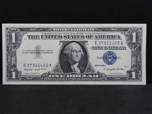 1957-A Crisp Uncirculated United States Blue Seal