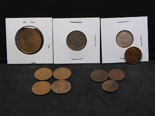 1961-D Roosevelt Dime, Canadian Dollar, Lincoln Cents