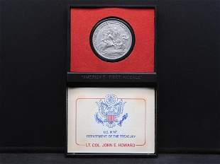 America's First Medals - 7th in the Series - Lt. Col.