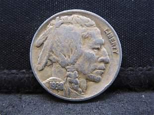 1938-D Buffalo Head Indian Nickel