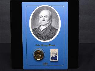 Collection Commemorating President John Quincy Adams w/