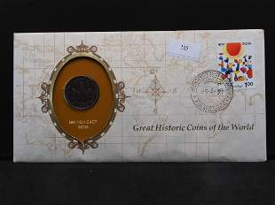 Great Historic Coins of the World - 1808 British East