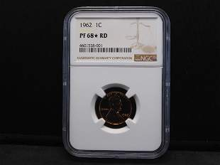 1962 NGC PF68* RD Lincoln Cent