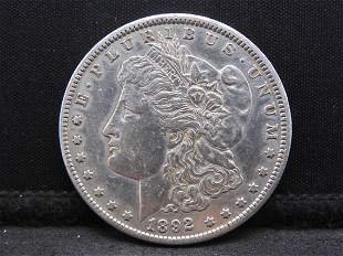 1892-CC Morgan Silver Dollar - High Grade!