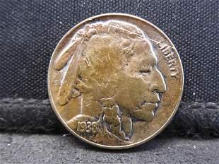 1938-D Buffalo Head Indian Nickel - Big Look!!