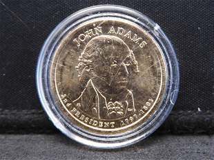 2007 John Adams Presidential Dollar