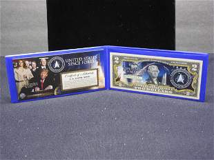 United States Space Force $2.00 Note Commemorating