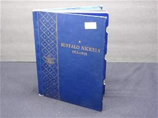 Whitman Album #9408 Buffalo Nickels - 1913-1938 - Empty