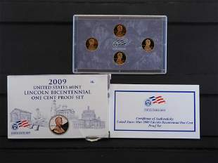2009 -S United States Mint Lincoln Bicentennial One