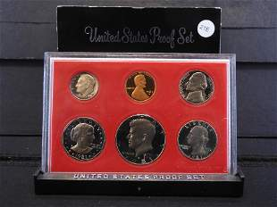 1981-S United States Proof Set - Six Coin Set contains