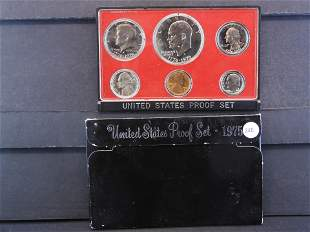 1975-S United States Proof Set - Six Coin Set contains