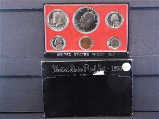 1976-S United States Proof Set - Six Coin Set contains