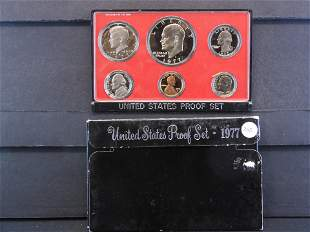 1977-S United States Proof Set - Six Coin Set contains
