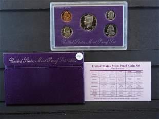 1992-S United States Mint Proof Set