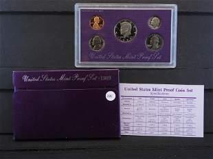 1989-S United States Mint Proof Set