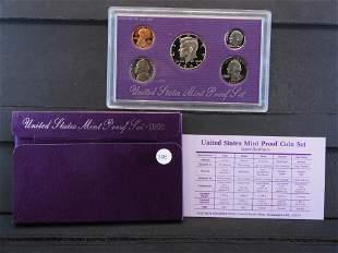 1991 -S United States Mint Proof Set