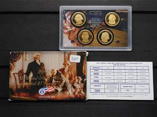 2007 United States Mint Presidential Dollar Proof Set