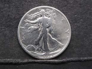 Semi Key 1933-S Walking Liberty Half Dollar