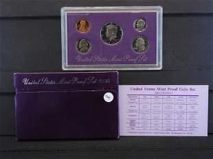 1990 -S United States Mint Proof Set