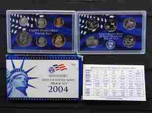2004 -S United States Mint Proof Set w/state Quarters