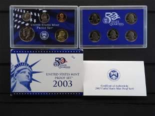2003 -S United States Mint Proof Set w/state Quarters