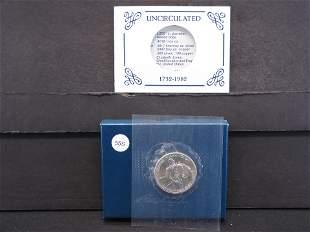 1982-D United States Uncirculated George Washington