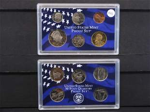 2005 -S United States Mint Proof Set w/state Quarters