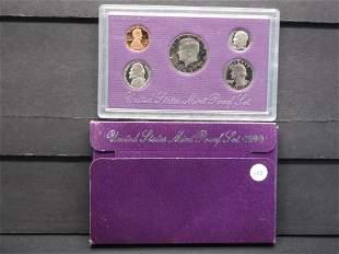 1990-S United States Mint Proof Set