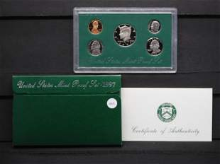 1997-S United States Mint Proof Set