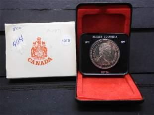 1971 Silver Canadian Dollar