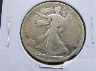 1921-S Walking Liberty Half Dollar KEY DATE