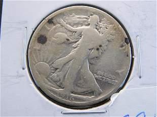 1916-P Walking Liberty Half Dollar