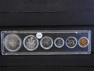 1964 Canadian Proof like Set /Year Set Four 80% Silver