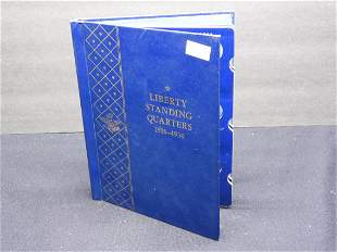Whitman Album #9417 -Empty - Liberty Standing Quarters