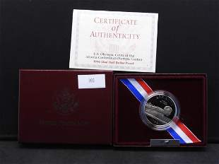 1996-S U.S. Olympic Coins of Atlanta Clad Half Dollar
