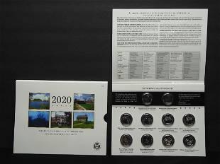 2020 P&D US Mint America The Beautiful Historical Park