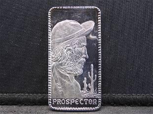 Vagabond Prospector One Troy Oz. 999 Fine Silver