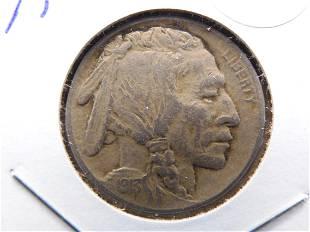 1913 Type 1 (On Mound) Buffalo Nickel. Sharp.