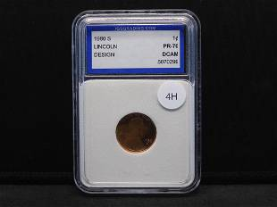 1980-S Lincoln Cent IGS PR70 DCAM