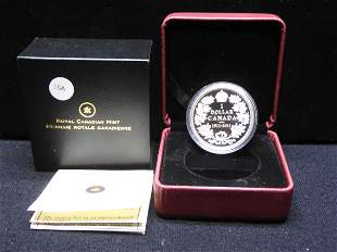 2011 Canada Special Edition Sterling 92.5% Silver