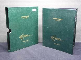 Album of Buffalo Nickels 1913-1938 - Partial Collection