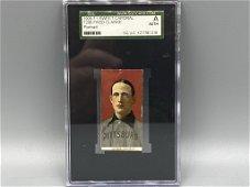 1909 T206 Fred Clarke Portrait SGC Authentic HOF