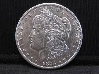 1878-CC Morgan Silver Dollar - Excellent Coin w/ the