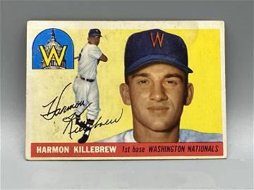 1955 Topps Harmon Killebrew #124 Rookie