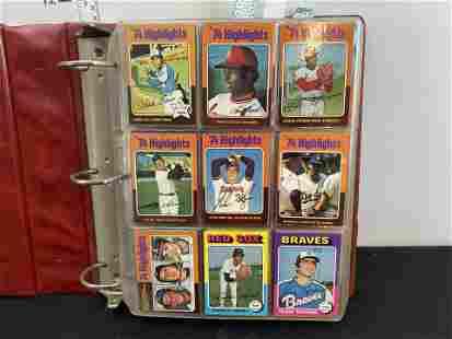 1975 Topps Baseball Complete Set - George Brett, Robin