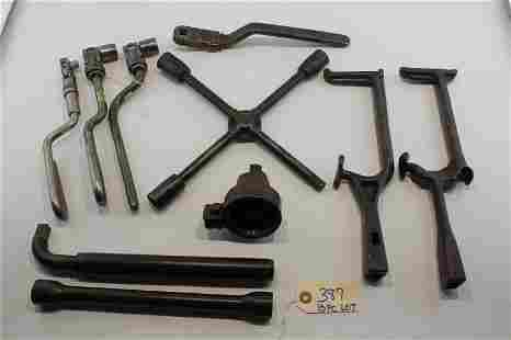 10 pc Collection of Auto Tire Tools
