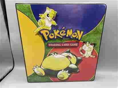 1999 Pokemon Album with Topps Series 1 Set & Topps The